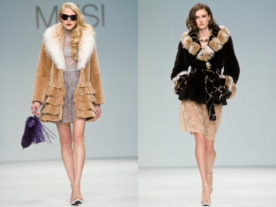 musi, jean crisan, lynx fur, sheared beaver, naffem, fur on the runway